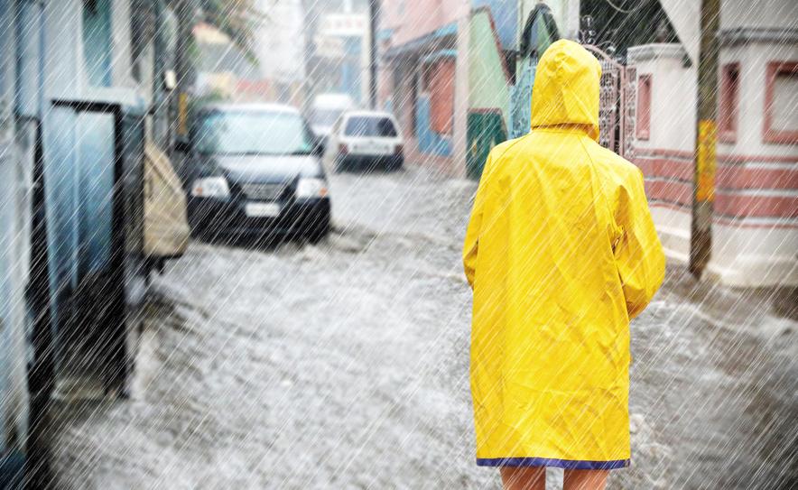Elementarschaden Hochwasser